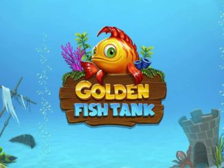 логотип игрового автомата golden fish tank