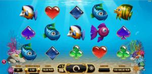 обзор игрового автомата golden fish tank от yggdrasil