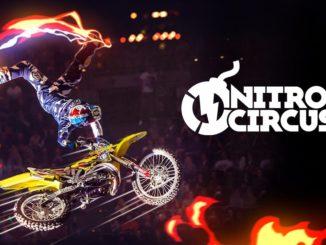 логотип игрового автомата nitro circus от yggdrasil